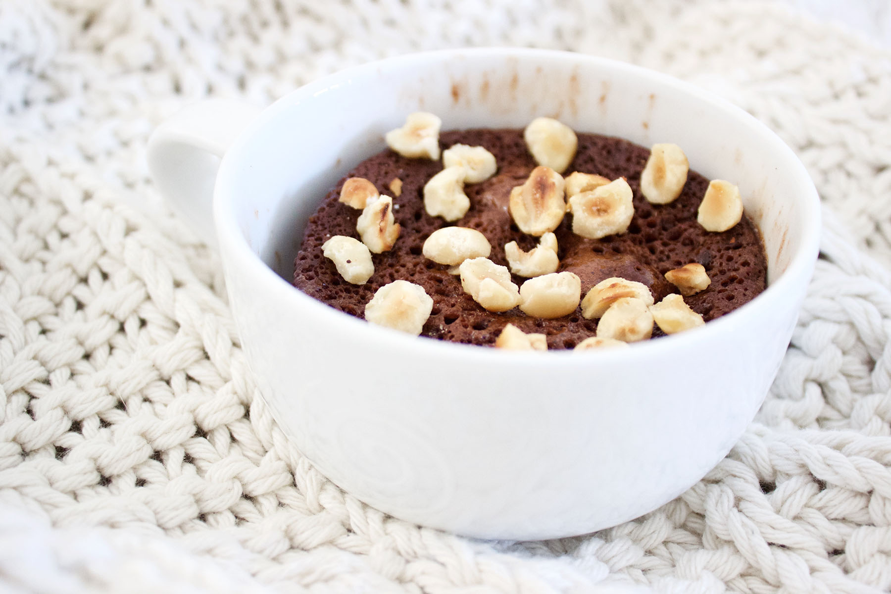 Healthy Girl Chocolate Mugcake Recipe