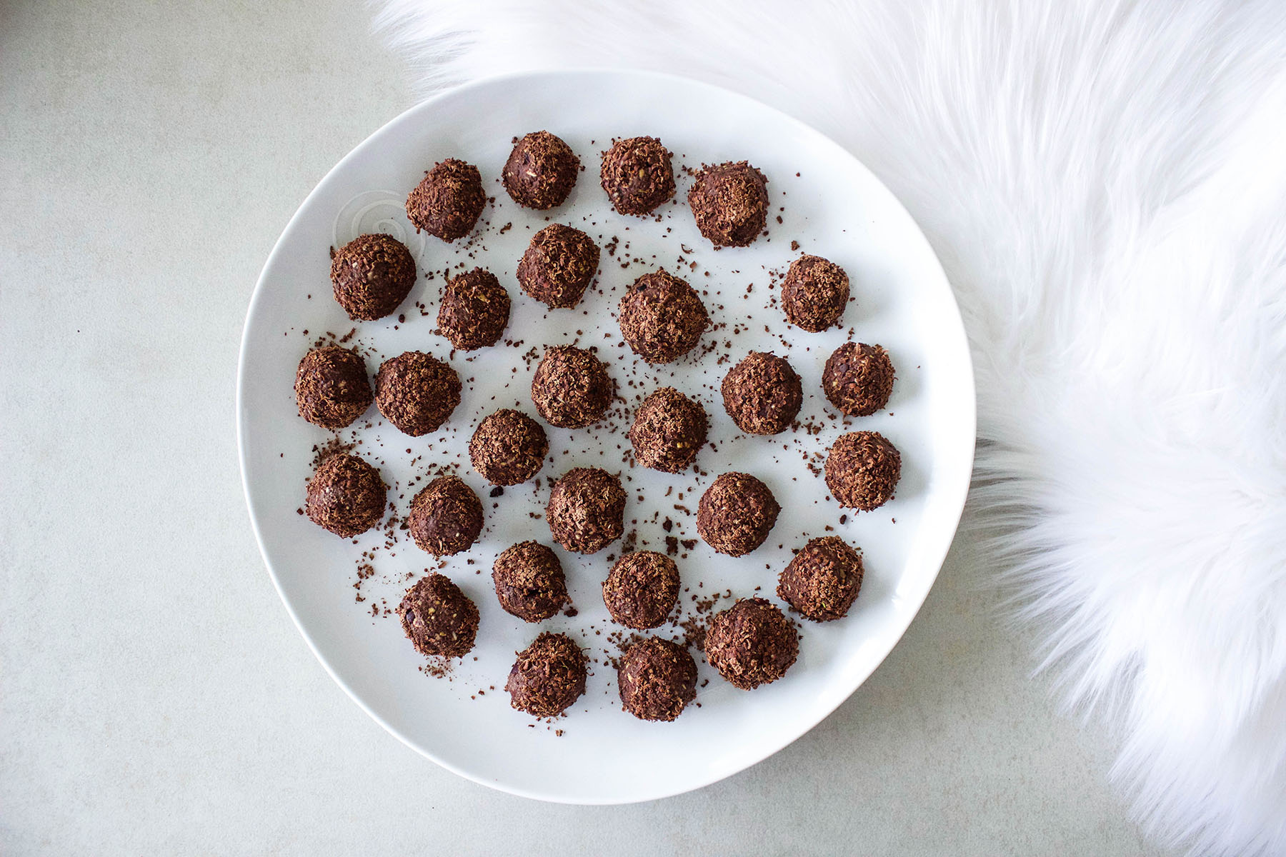 Chilli Chocolate Healthy Girl Protein Balls