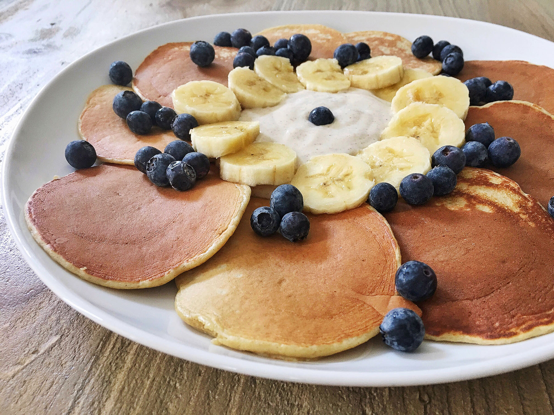 My Favourite Healthy Protein Pancakes
