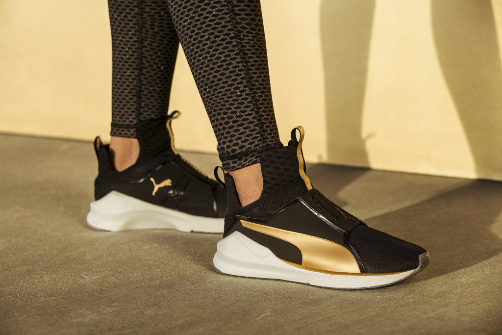 Work Hard and Feel FIERCE in Gold. Puma Gold, Baby