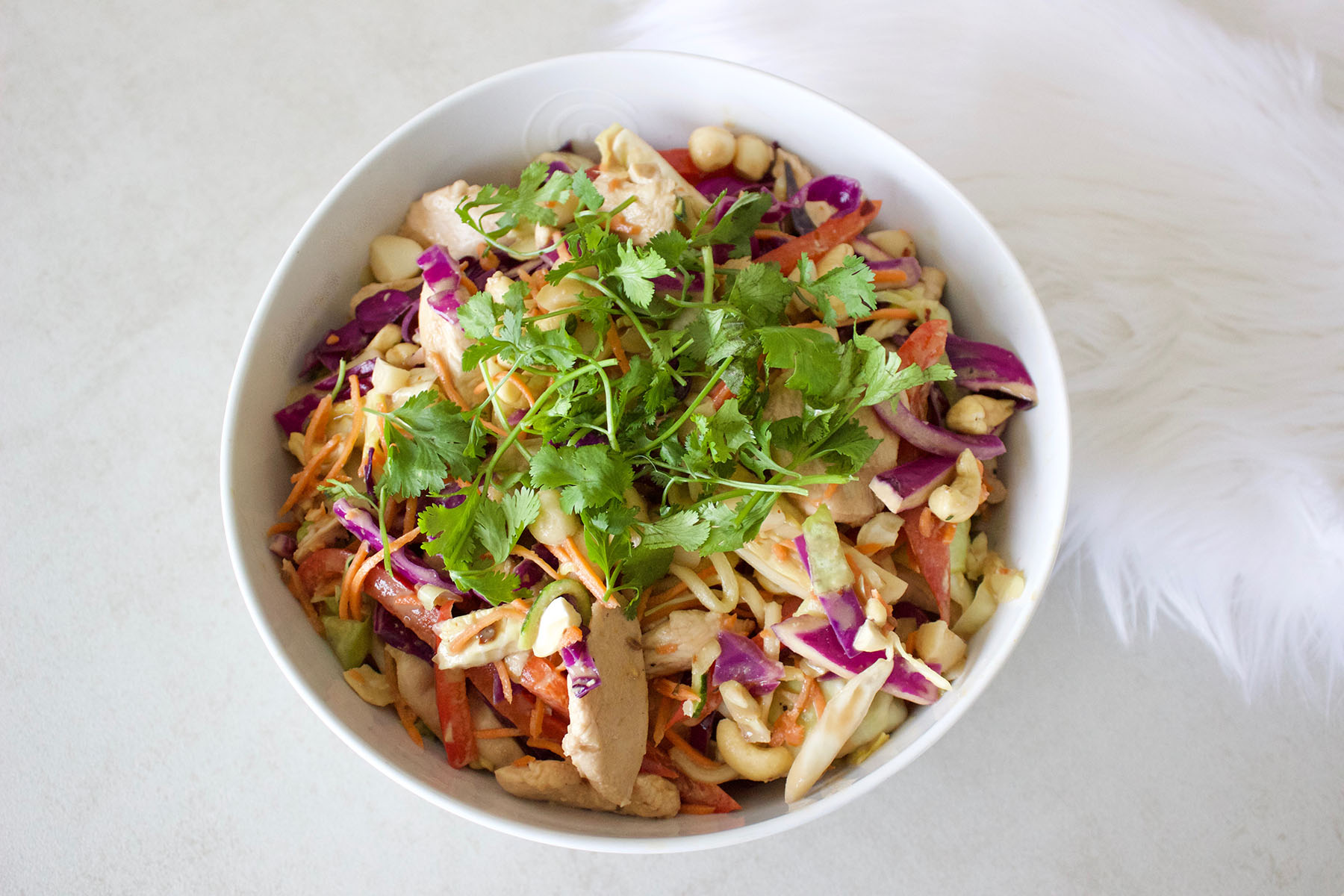 Healthy Girl Chicken Pad Thai